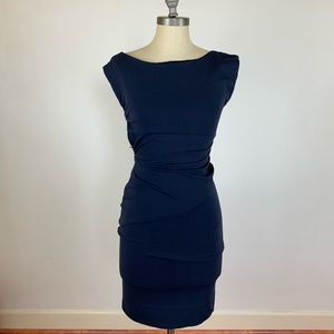 Diane Von Furstenberg Navy Blue Jodi Dress